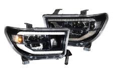 Morimoto Toyota Tundra 07-13 XB LED Headlights Sequoia 08-18 Black Lights