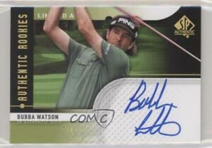 2012 SP Authentic Rookies Limited /100 Bubba Watson #81 Rookie Auto