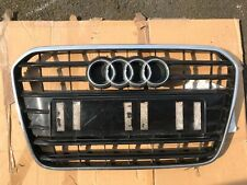 Audi A6 C7 2011-15 Front Bumper Grille 4G0853653 4G0853037 Read The Description