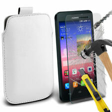 Fundas Para Huawei Ascend G color principal blanco para teléfonos móviles y PDAs