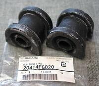 2x Subaru Front Sway Bar Stabilizer Bushing Anti-roll OEM 08-11 Impreza WRX STI