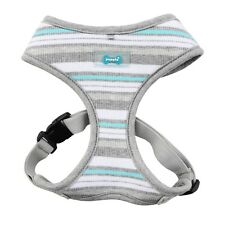 Puppia - Dog Puppy Soft Harness - Oceane - Melange Grey - S, M, L, XL