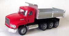 MACK RED TRI-AXLE DUMP TRUCK PROMOTEX HERPA 1/87 Truck HO Scale