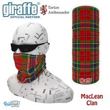MACLEAN Clan Scozzese Tartan multifunzionale Headwear Bandana Fromlowitz basso di lenza