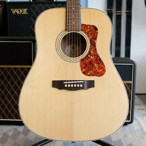 Guild D-240E Limited Flamed Mahogany (Transit Damaged - Spares or Repair)