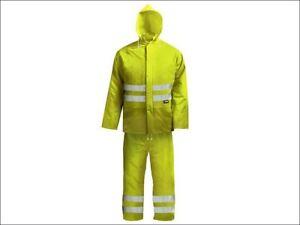 Scan - Hi-Visibility Rain Suit Yellow - XXL