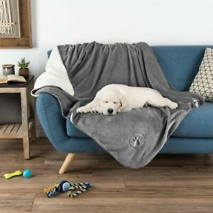 Waterproof Pet Throw 50 x 60 Inch Bed Couch Protect Furniture Dog Blanket Gray