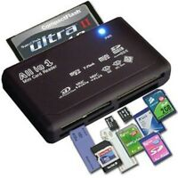 USB Flash Memory All in One 1 SD SDHC Mini Micro M2 MMC Multi Card Reader Writer