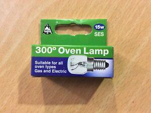 Bell Oven Bulb, Lamp - 300 degrees - Screw - 15 watts SES/E14 - Free Post