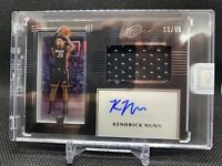 2019 Panini One And One  Kendrick Nunn Rookie Jersey Auto Shadowbox /99 RPA