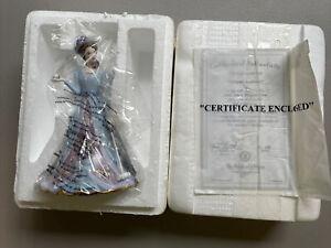 Lena Liu Elegant Era Bell Victorian Porcelain Croquet anyone figurine Bradford
