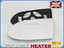 For OPEL ZAFIRA A 1999-05 Wing Mirror Glass Wide Angle HEATED Left Side /F017