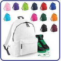 Junior Boys Girls School Backpack Kids Fashion Retro Rucksack Sports Travel Bag