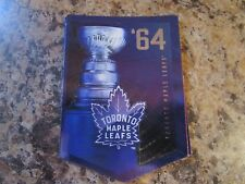 2012-13 Panini Molson Canadian Stanley Cup Collection 1964 TORONTO MAPLE LEAFS