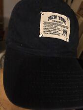 New York Yankees Hat Blue Snap Strap American Needle Used As Display