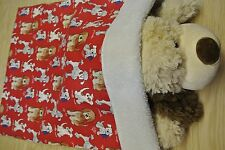 Snuggle Sack Burrow Blanket Poodles Mutts 28x20