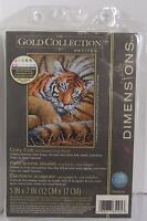Dimensions The Gold Collection Petites Counted Cross Stitch COZY CUB Tiger Cat