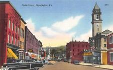 MONTPELIER, VT Vermont  MAIN STREET  McLellans~Western Auto~Coke Sign   c1950's