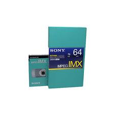 Betacam Tape Cassette Sony IMX BCT-64MXL Brand New