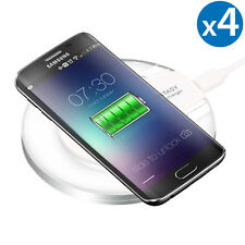 4x Wireless Charger Pad Charging Dock for iPhone X/8/8 Plus Galaxy S9/S8+/Note 8