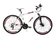 "29"" pulgadas Alu Cross MTB bicicleta Genesis Shimano 21 marchas freno de disco disc Weiss"