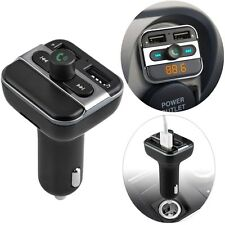 Auto Bluetooth FM Transmitter MP3 Player Car Kit Dual USB KFZ  Freisprechanlage