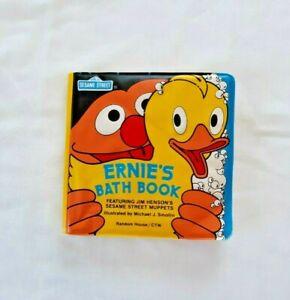 Ernie's Bath Book Sesame Street 1992