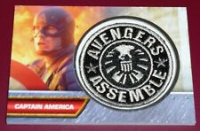 Captain America First Avenger - Movie Patch Card I-4 Avengers Assemble Insignia