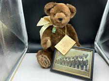 Hermann Teddy Bear 18 1/8in Limited Unbespielt. Top Zustand