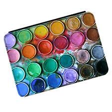 Pintura Cuadro Paleta Set Arte Pintura Mini Ipad 1 2 3 Cuero Pu Flip Funda Protectora