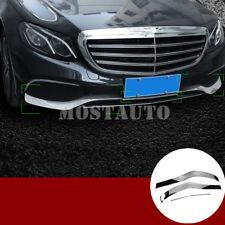Para Mercedes W213 Saloon 16-18 Parachoques Trasero Cubierta Protector Protector Recortar Cromo