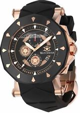 Watchstar Quantico Top Secret Marine Corps Blackhawk Helicopter Black Rose Watch