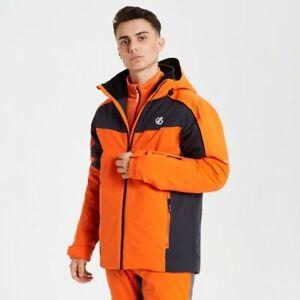 DARE2B INTERMIT Mens Snow Ski Board Jacket CLEMENTINE ORANGE Size M - 3XL