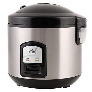Mia RK4508 Reiskocher Gemüsegarer Dampfgarer mit Warmhaltefunktion 1 Liter 400W