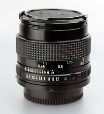 CANON FD 1,4/50 50mm 1:1,4 für F-1 A-1 AE-1 T90 etc. 35mm SLR MF Ser: 2953227