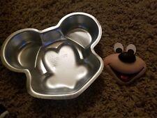 Wilton Disney Mickey Mouse Faces Cake Pan Molds 3005-696