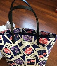 Kate Spade Navy Seed Packet Turn Over A New Leaf Bon Shopper Summer Bag Tote