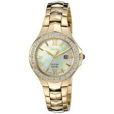 Seiko Coutura Sut-242p9 reloj Señora acero solar 100m