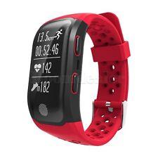 S908 Bluetooth Smart Band GPS Watch Heart Rate Monitor Calories IP68 Waterproof