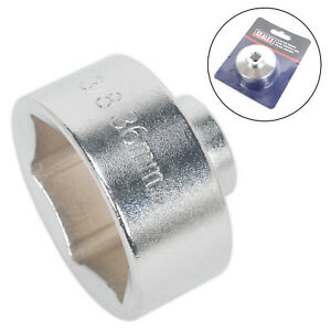 """Sealey SX114 Low Profile Oil Filter Socket 36mm 3/8"""" Sq. Drive Oil Filter Wrench"""