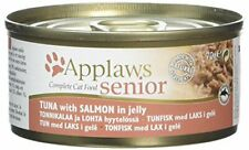 Applaws Natural Complete Wet Cat Food for Senior Cats, Tuna with Salmon in