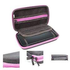 Orzly Carry Case for New Nintendo 2DS XL or 3DS XL - Black/Pink