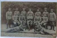 Bayern Soldaten, Fotokarte 1915 aus Augsburg (38979)