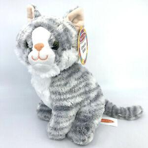 Melissa and Doug Greycie Tabby Cat Plush NEW Stuffed Toy 9 inches Model 7525