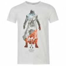Assassin's Creed Unity Mens T Shirt Graphic 100% Cotton Top MEDIUM B151-20