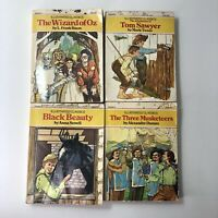 Collectable McDonalds Illustrated Classics books 1977 Wizard of Oz, + 3 Others