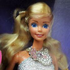 Vintage 1986 Jewel Secrets Barbie Mint in very worn /damage box