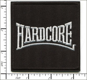 25 Pcs Embroidered Iron on patches Hardcore Heavy Metal Badge Musice AP056hH