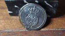 BOUTON MILITAIRE1814  BOUTON D'OFFICIER DE LA GARDE NATIONALE PARISIENNE,