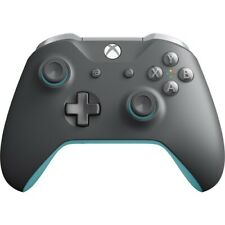 Xbox Wireless Controller Grey And Blue - Wireless - Bluetooth - Xbox One - PC -